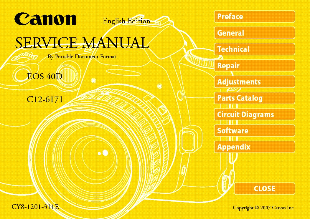 canon eos 40d service manual download schematics eeprom repair rh elektrotanya com canon 40d owners manual canon eos 40d owners manual