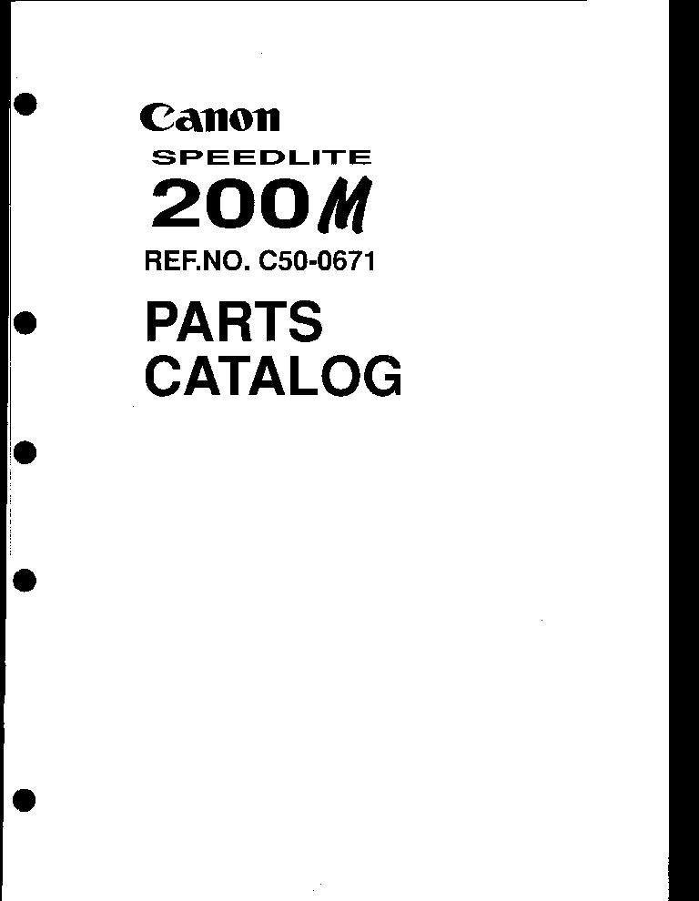 canon speedlite 200m parts service manual download schematics rh elektrotanya com Speedlight Diffuser Alien Bee