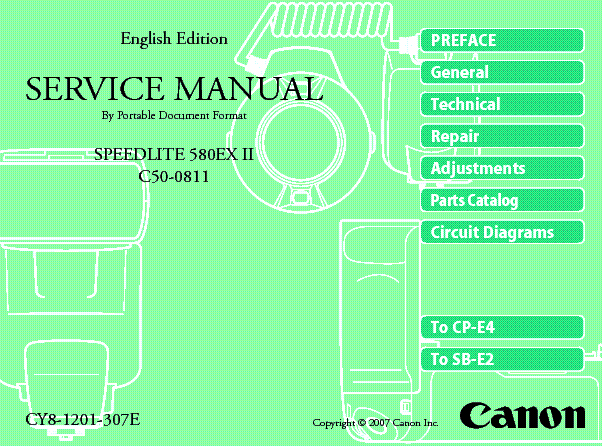 speedlite service manual free owners manual u2022 rh wordworksbysea com canon speedlite 430ex service manual & repair guide manual canon speedlite 430ex ii español