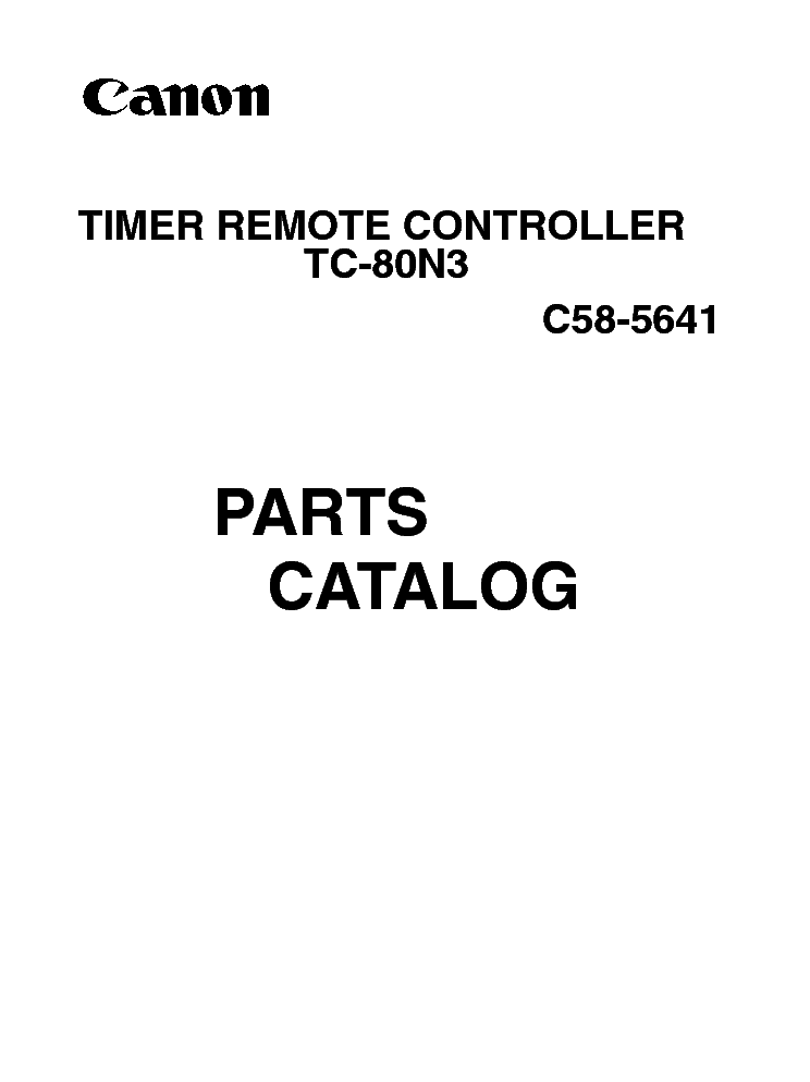 TCN3 Timer Remote Controller