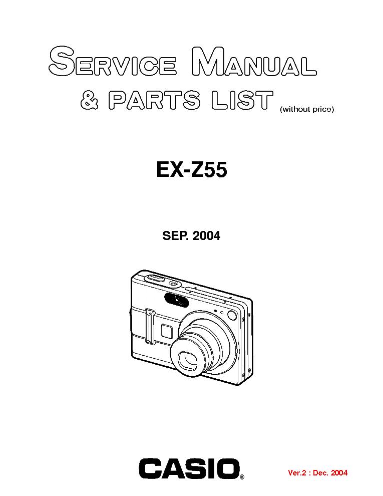 Casio Ex Z55 Инструкция