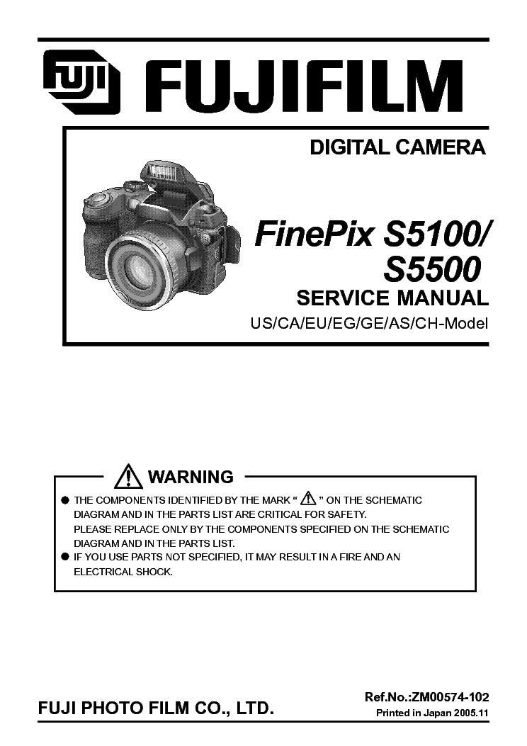 fuji finepix s5100 s5500 service manual download schematics eeprom rh elektrotanya com Chilton Repair Manual HP Owner Manuals