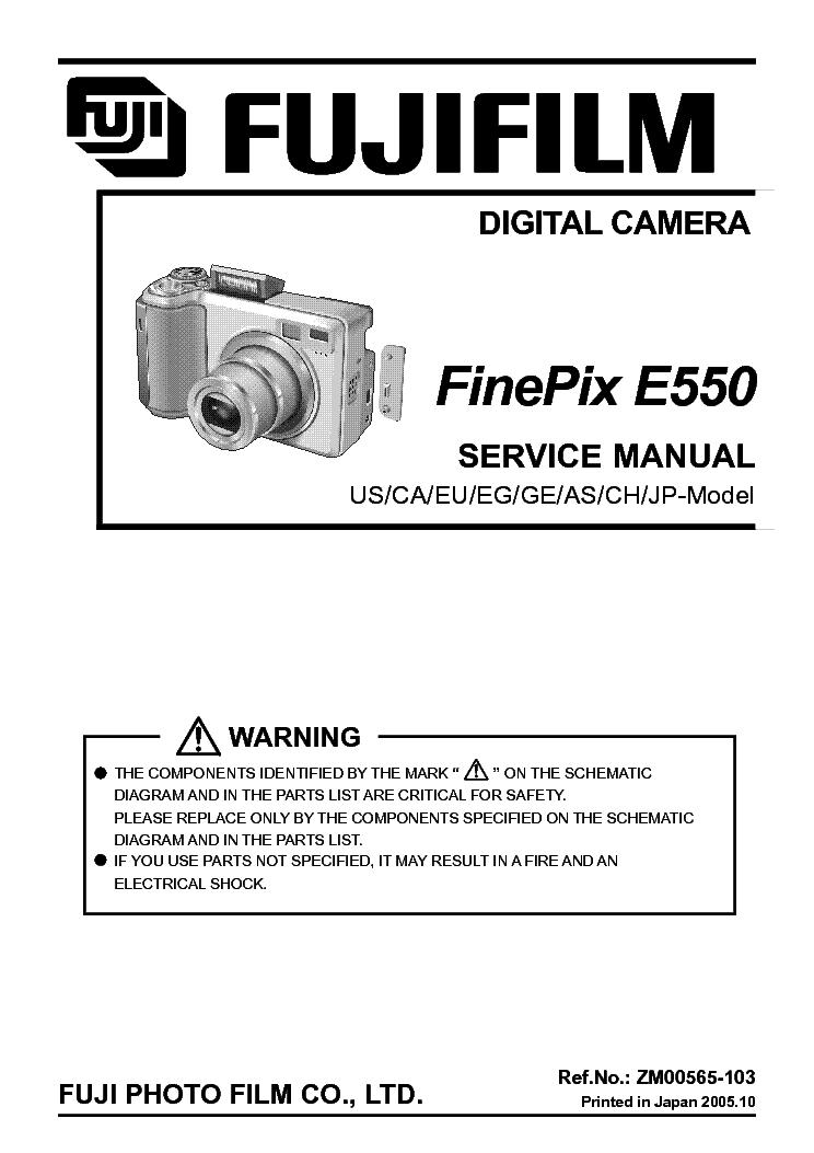 fujifilm finepix e550 sm service manual download schematics eeprom rh elektrotanya com Auto Repair Manual Service Station