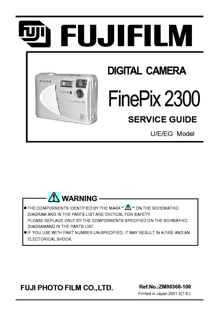fujifilm finepix s5800 s800 sm service manual download schematics rh elektrotanya com Parts Manual Auto Repair Manual