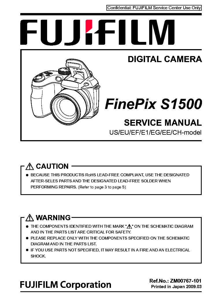 fujifilm finepix s1500 service manual download schematics eeprom rh elektrotanya com