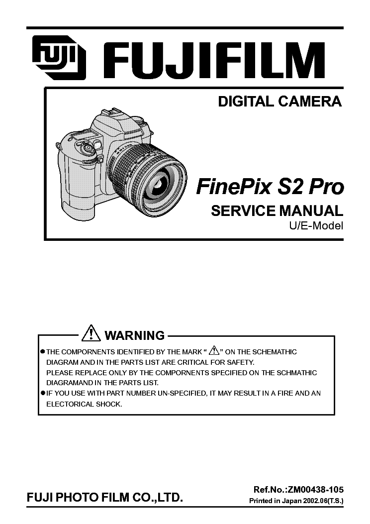 fujifilm finepix s2 pro service manual download schematics eeprom rh elektrotanya com FinePix V10 FinePix S7000