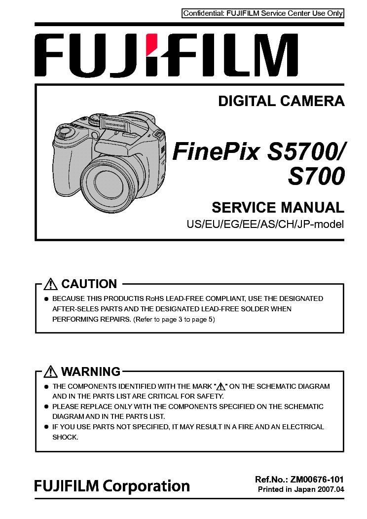 fujifilm finepix s5700 s700 service manual download schematics rh elektrotanya com Fujifilm FinePix S Camera Fujifilm FinePix S Camera