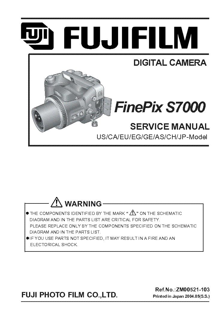 fujifilm finepix s5700 s700 service manual download schematics rh elektrotanya com Fujifilm FinePix F810 Fujifilm FinePix F810