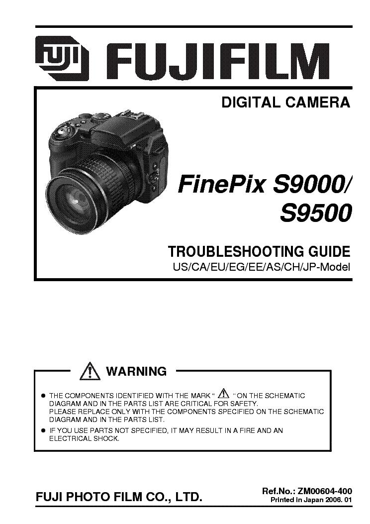 fujifilm finepix s9000 s9500 troubleshooting service manual download rh elektrotanya com finepix s9500 service manual finepix s9500 service manual