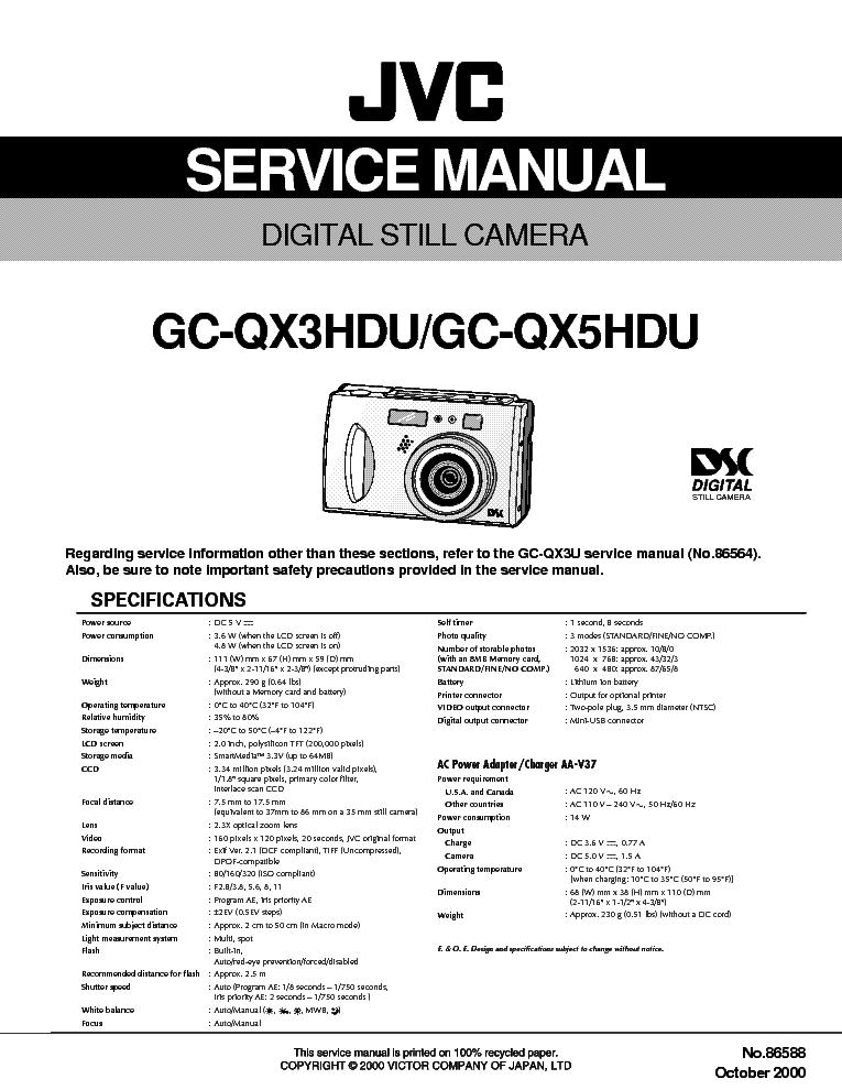 JVC GC QX3U WINDOWS DRIVER DOWNLOAD