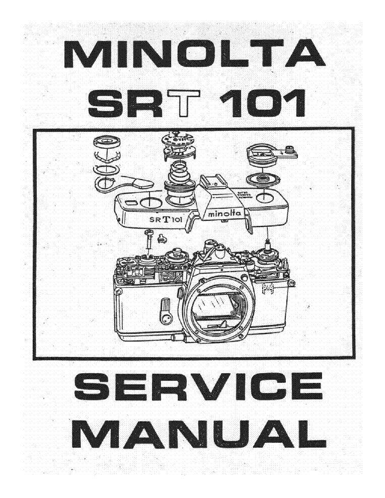 minolta srt 101 sm service manual download schematics eeprom rh elektrotanya com minolta srt 101 service manual pdf minolta srt 101 service manual pdf