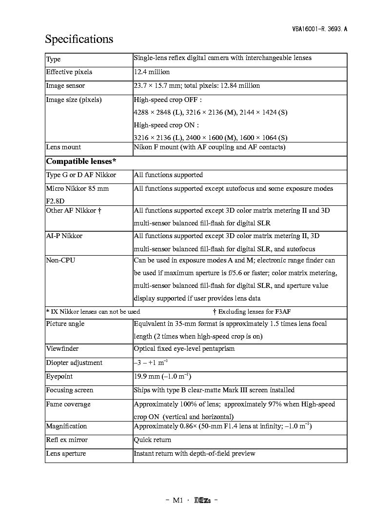 nikon d60 service manual