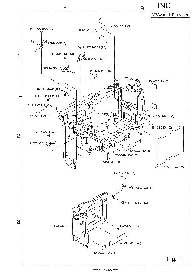 NIKON D300 PARTS LIST Service Manual download, schematics, eeprom