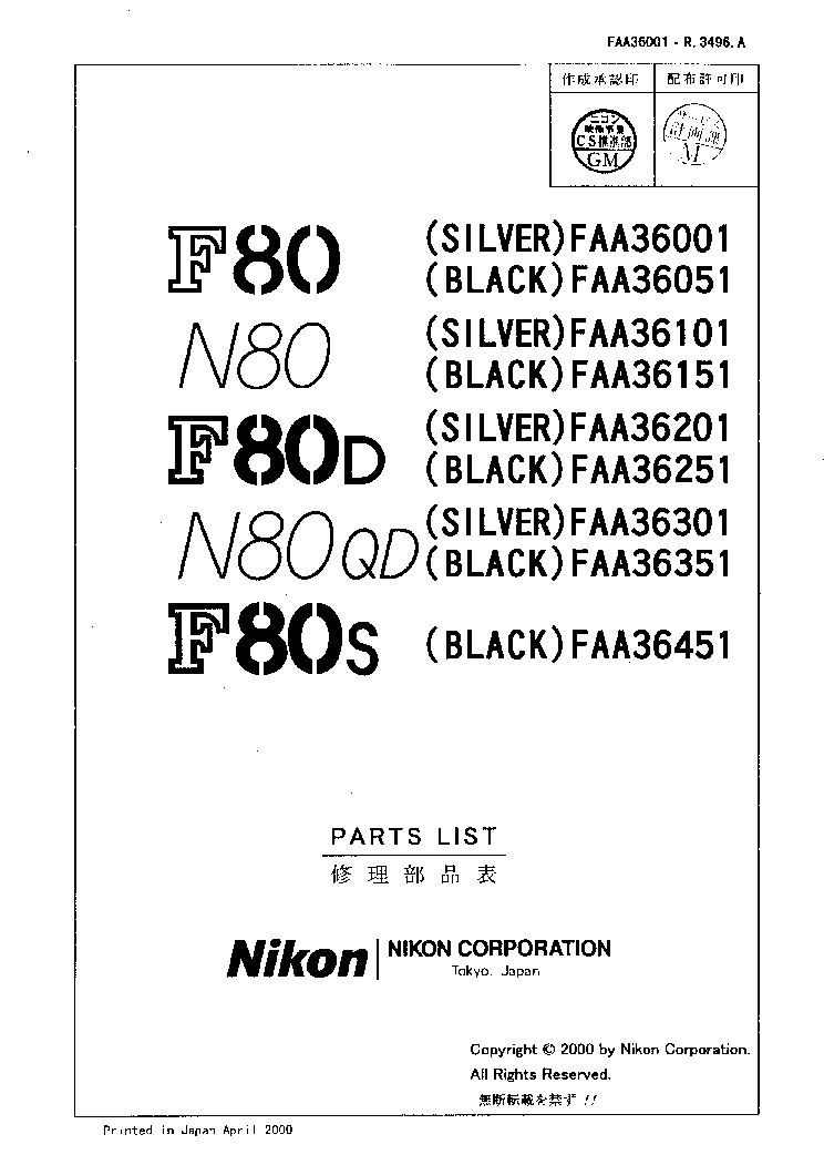 Flickr Discussing PDF instruction manual in Nikon N (NS / F/ FS)
