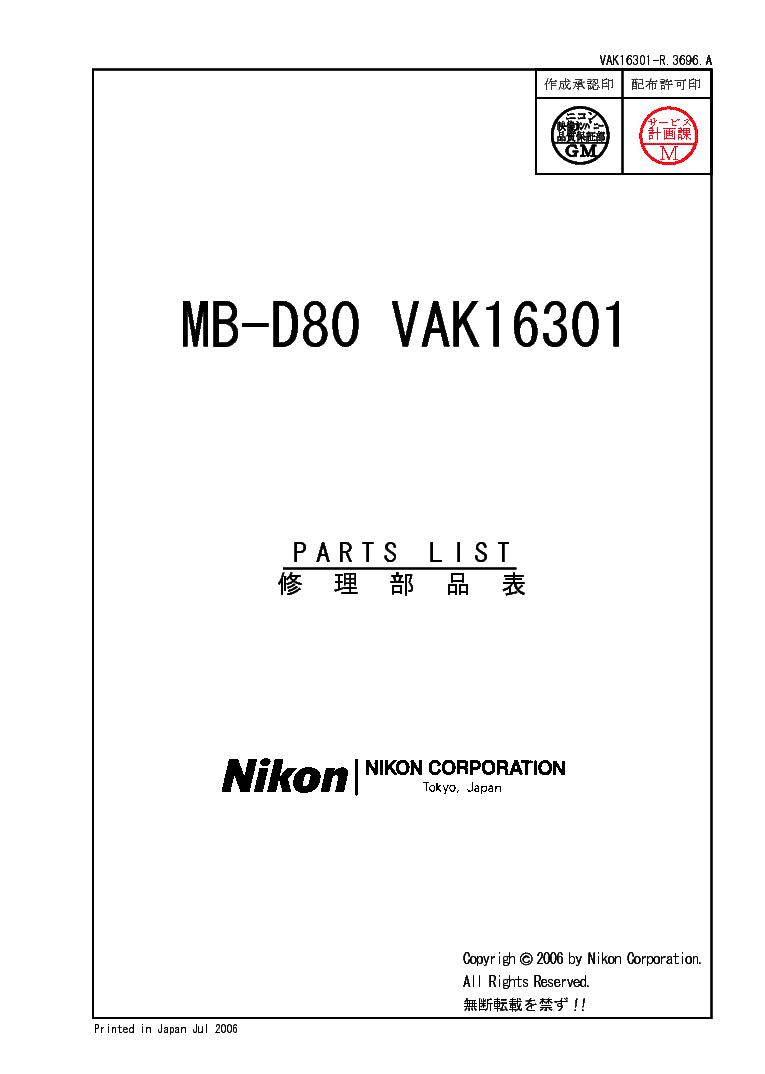 D80 Nikon Manual Pdf
