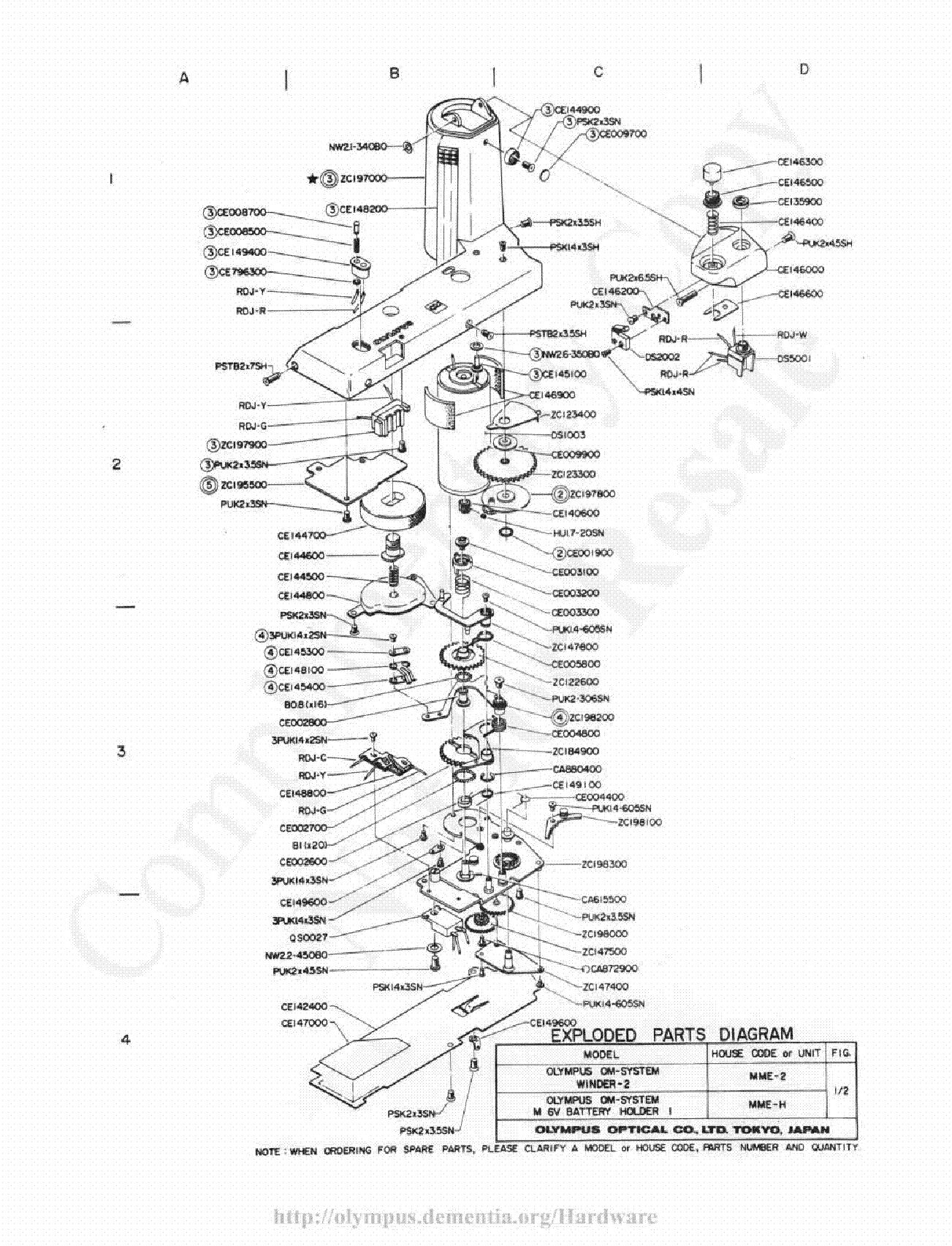 olympus om 2 exploded parts diagram service manual download rh elektrotanya com olympus xa2 owners manual olympus xa2 service manual