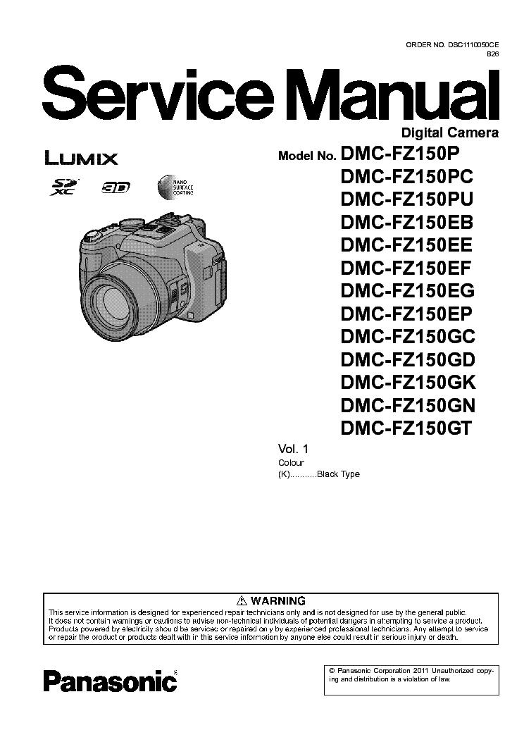 panasonic dmc fz150 sm service manual download schematics eeprom rh elektrotanya com Simpson Connectors Killzone LS70