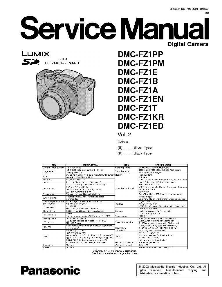 panasonic dmc lz10 sm service manual download schematics eeprom rh elektrotanya com Panasonic Lumix DMC FZ Series Panasonic Lumix DMC FZ18 Manual