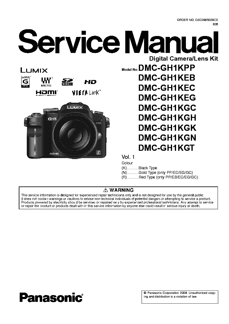 panasonic dmc gh1 sm service manual download schematics eeprom rh elektrotanya com Panasonic Lumix DMC-FP1 Panasonic Lumix DMC-FZ150