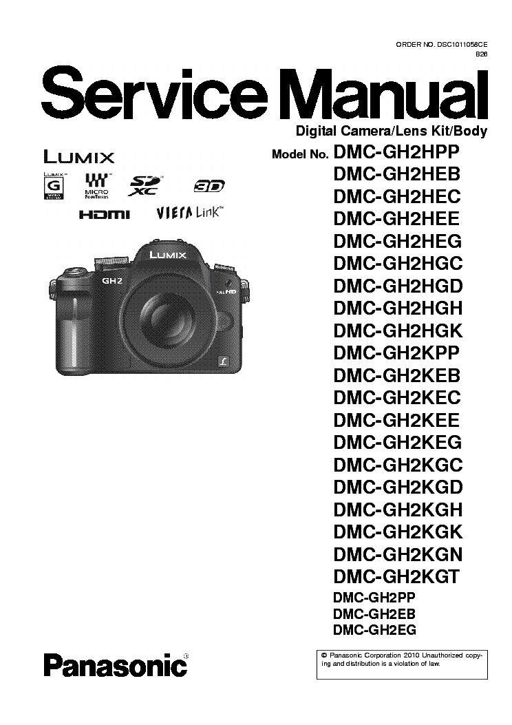 panasonic dmc gh2 series sm service manual download schematics rh elektrotanya com panasonic lumix gh2 manual español Panasonic GH1