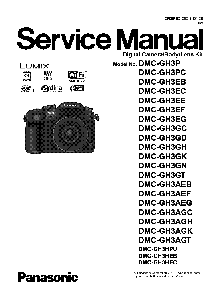 panasonic dmc gh3 series service manual download schematics eeprom rh elektrotanya com panasonic lumix gh4 manual pdf panasonic lumix gh3 manual