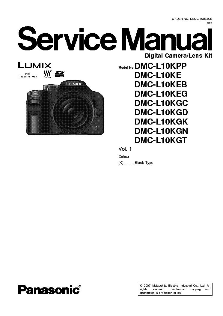 panasonic dmc ls60 xx ls70 xx ls75 xx sm service manual download rh elektrotanya com Killzone LS70 Panasonic LS70