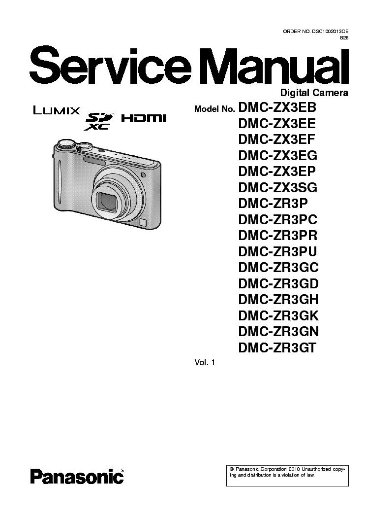 panasonic dmc zr3 zx3 service manual download schematics eeprom rh elektrotanya com FX3 Dance FX3 Roblox