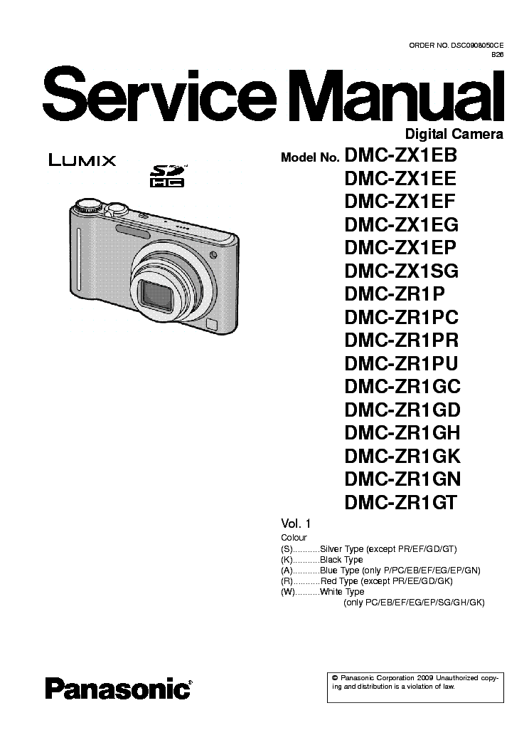 panasonic dmc tz7 zs3 sm service manual download schematics eeprom rh elektrotanya com User Manual Panasonic Cordless Phone KX-TG155SK Panasonic Owner's Manual