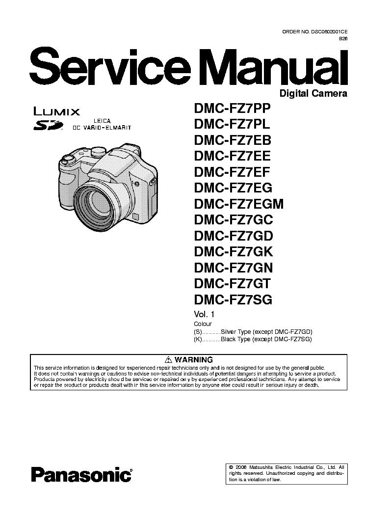 panasonic lumix dmc fz7 xx sm service manual download schematics rh elektrotanya com panasonic lumix dmc-fz7 service manual panasonic dmc fs7 manual