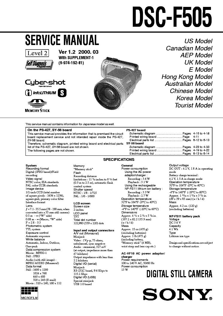 sony cybershot dsc w370 service manual repair guide