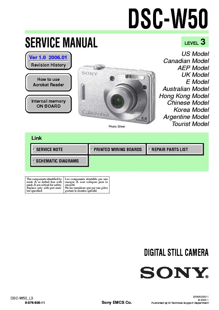 Общие - Инструкция На Русском Sony Dsc-W50 - soft-files72