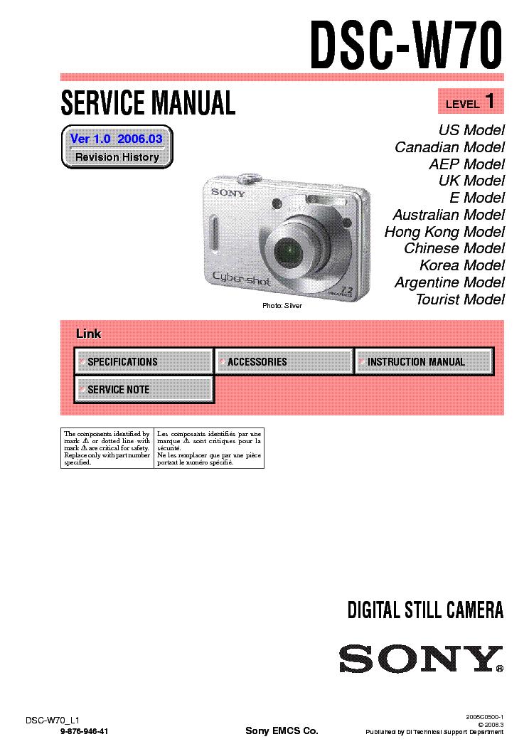 free download Sony Cybershot Dsc-W30 User Manual torent Powhatan