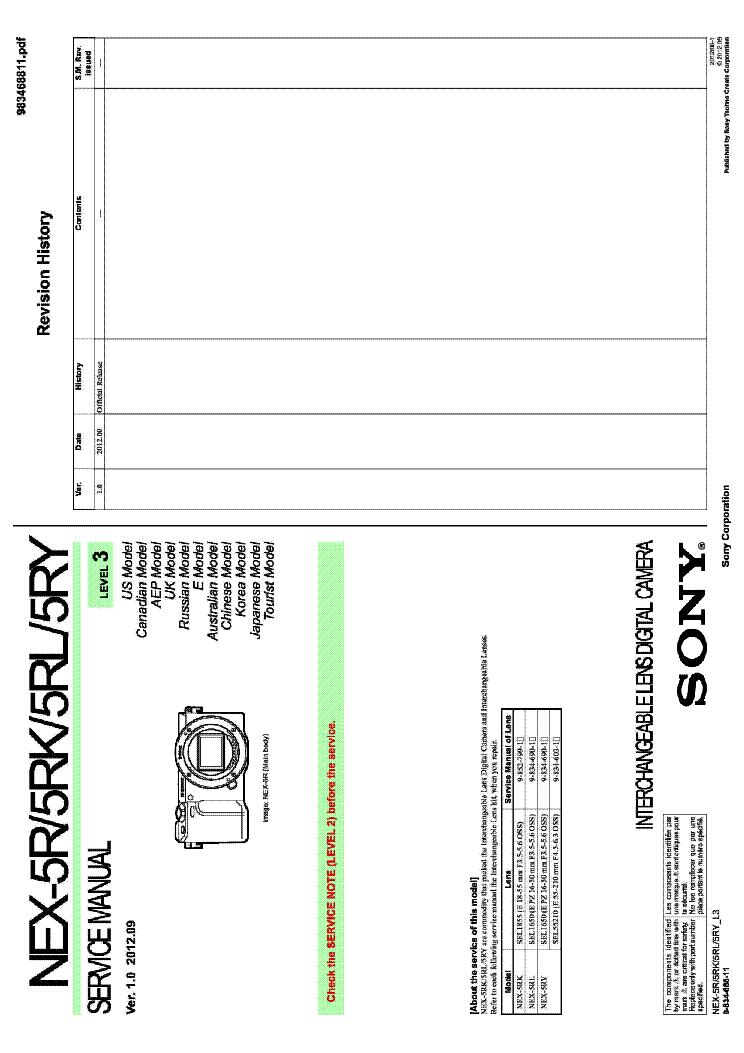 sony nex 5 manual pdf