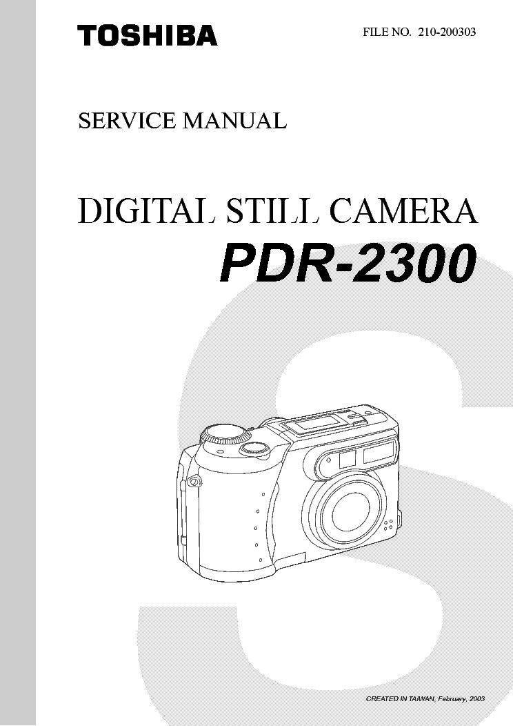 Toshiba pdr 2300 2. 0mp digital camera silver | ebay.
