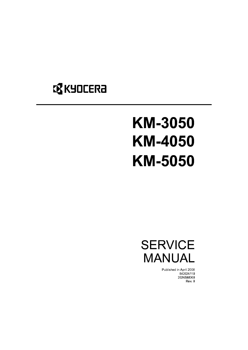Kyocera 4035 service manual