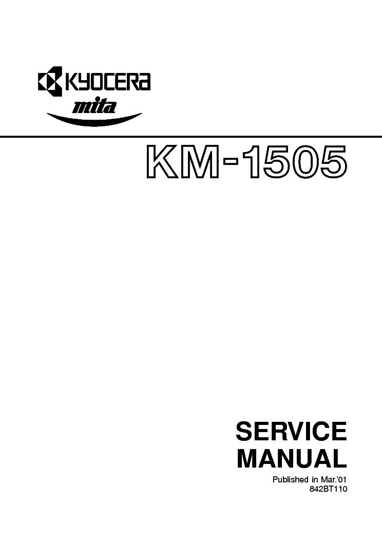 manual kyocera 1820 la