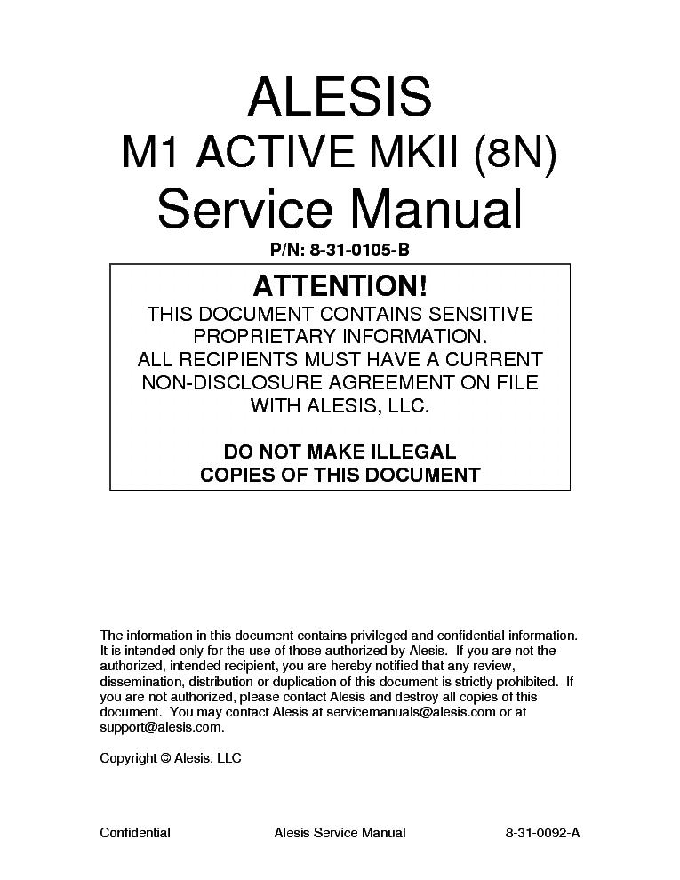 alesis m1 active mkii 8n sm service manual download schematics rh elektrotanya com it service manual for john deere it service manual john deere 7810