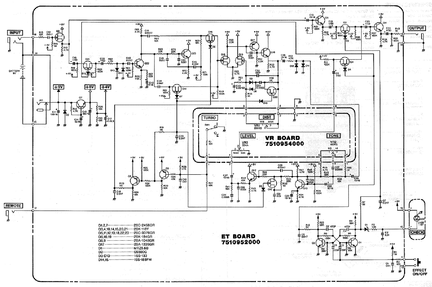 BOSS TURBO-DISTORTION-DS2 Service Manual download, schematics ... on boss lm-2 schematic, boss ce-3 schematic, boss od-2 schematic, boss ds 1 modification, boss ds 1 keeley mod, boss sd1 schematic, boss oc-2 schematic, boss sp1, boss ge-7 schematic, boss dm-2 schematic, boss overdrive schematic, boss hm-2 schematic, boss od-1 mod instruction, boss fs 6 footswitch schematic, boss metal zone, boss ph-1 schematic, boss ls 2 schematic, boss mt 2 schematic, boss blues driver schematic, boss ce-2 schematic,