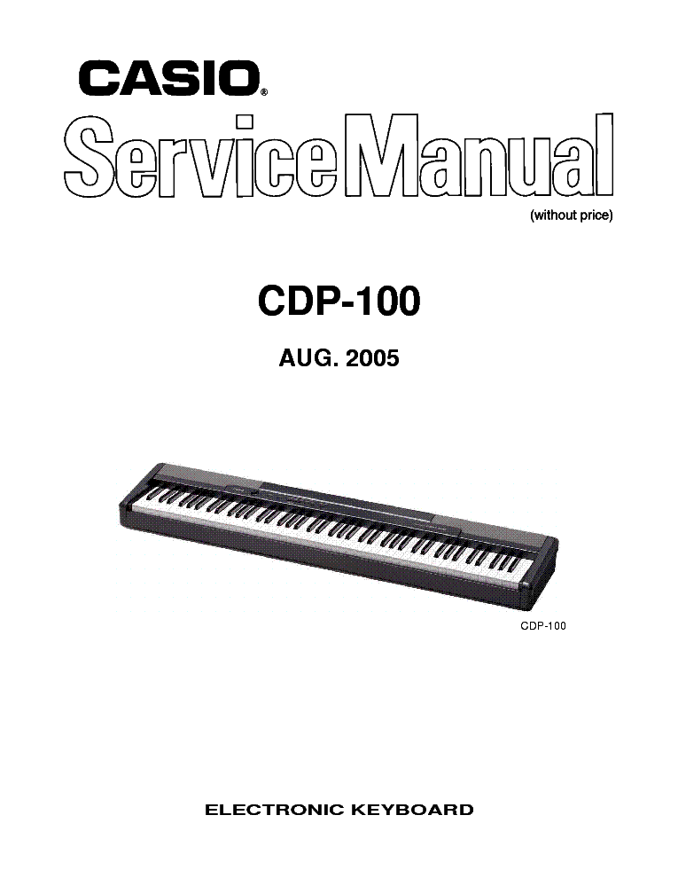 Casio ev-510b kx-619b service manual download, schematics, eeprom.