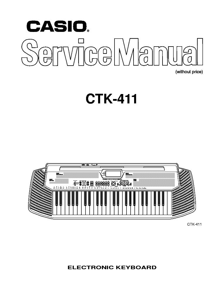 Ctk 573 casio manual.