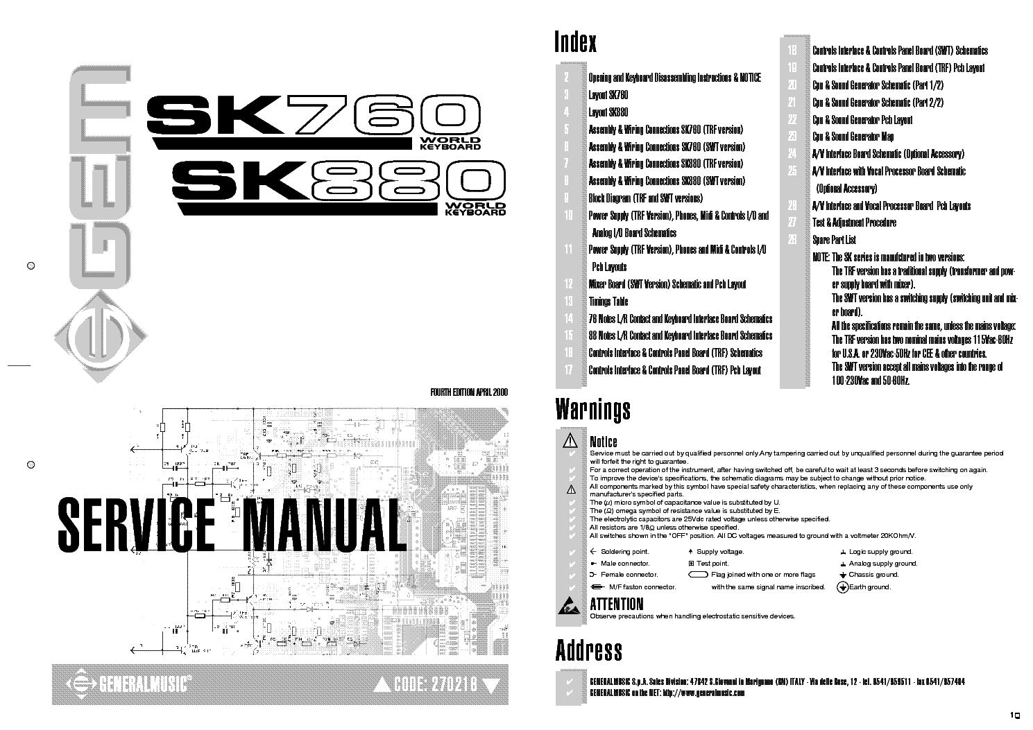 generalmusic gem sk760 gem sk880 service manual download schematics rh elektrotanya com gm service manual torrent gm service manual dvd