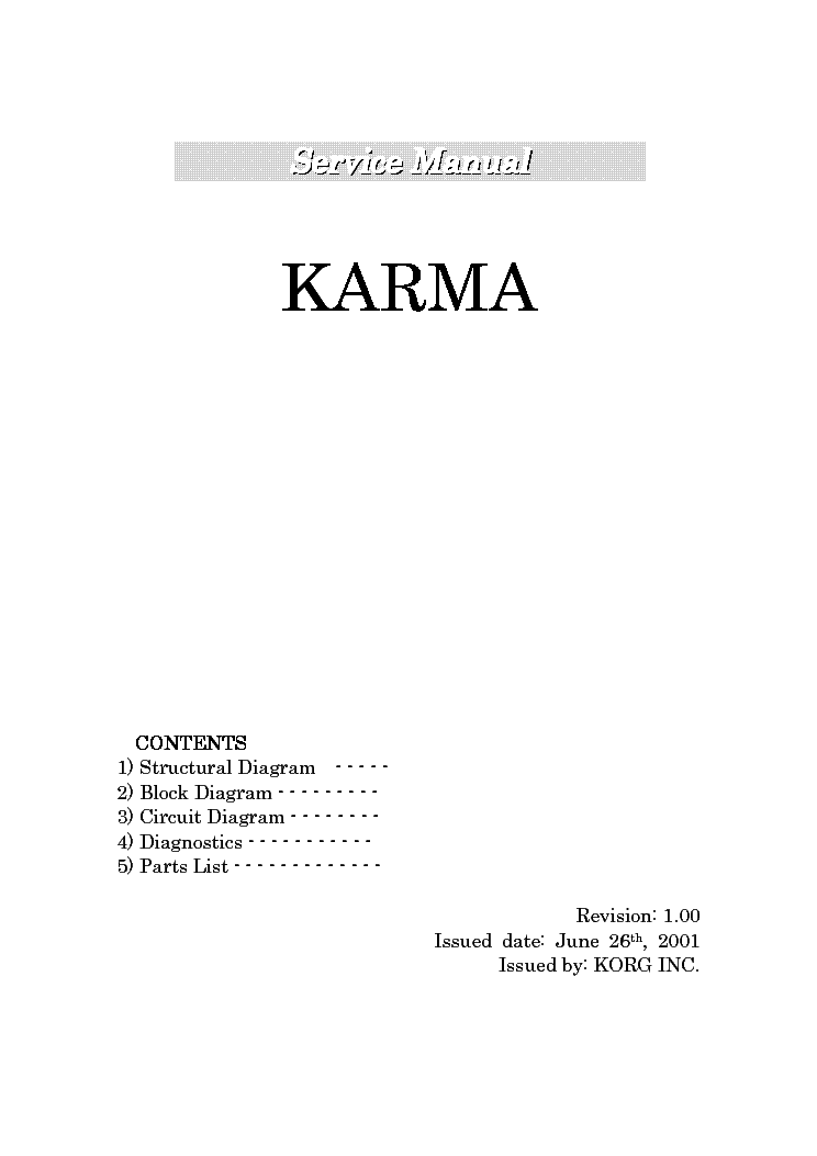 korg karma x 9100 sm service manual download schematics eeprom rh elektrotanya com Korg Triton Korg Triton