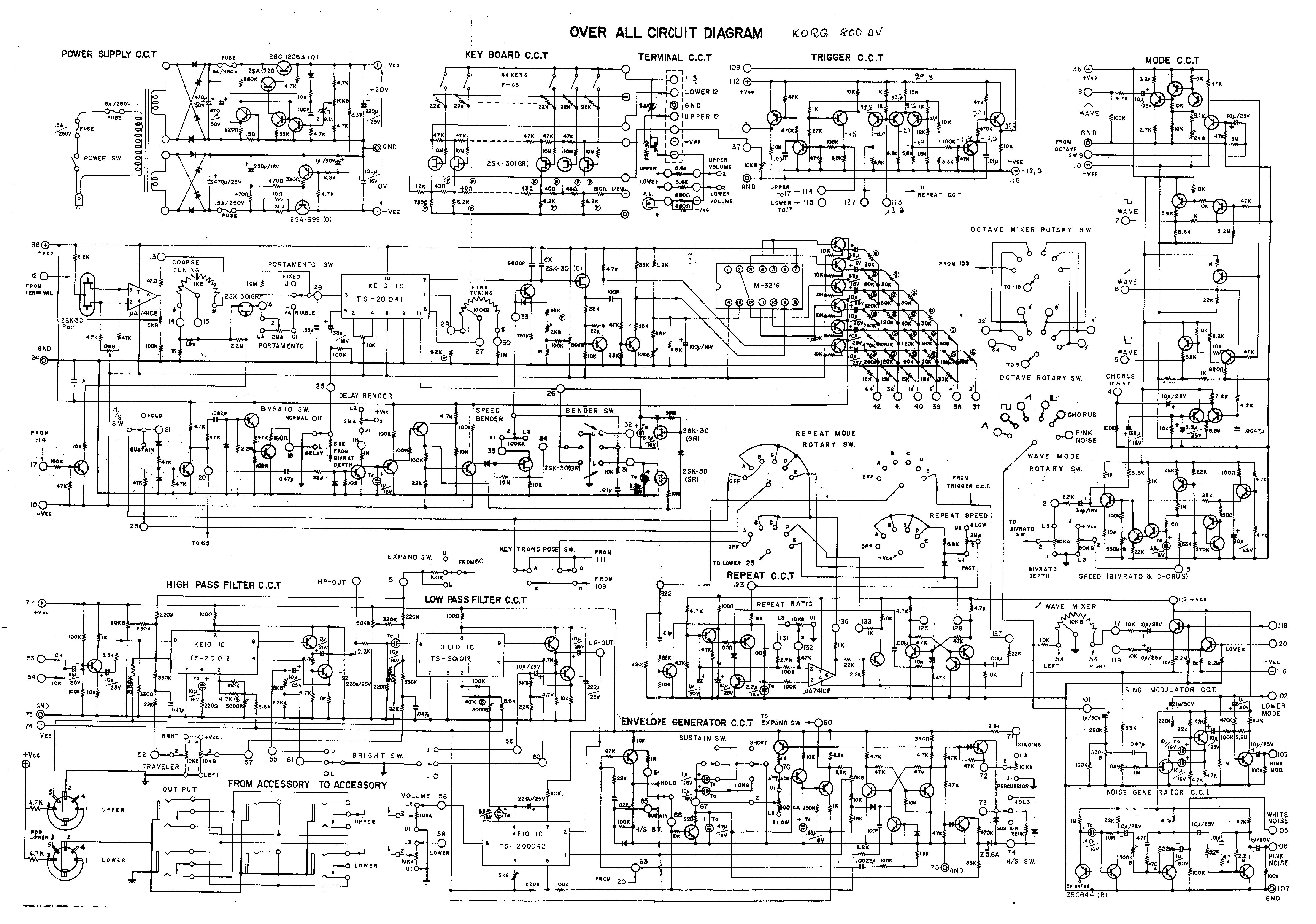 Korg Wiring Diagram Layout Diagrams Toyota Engine P062dno1 M3 Sm Service Manual Download Schematics Eeprom Repair Info Rh Elektrotanya Com Hvac 3 Way Switch