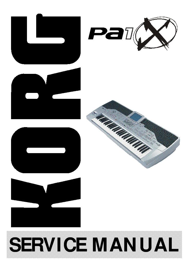 Korg N364 Manual  Cheap Korg I I Ihd I Repair Service Manual