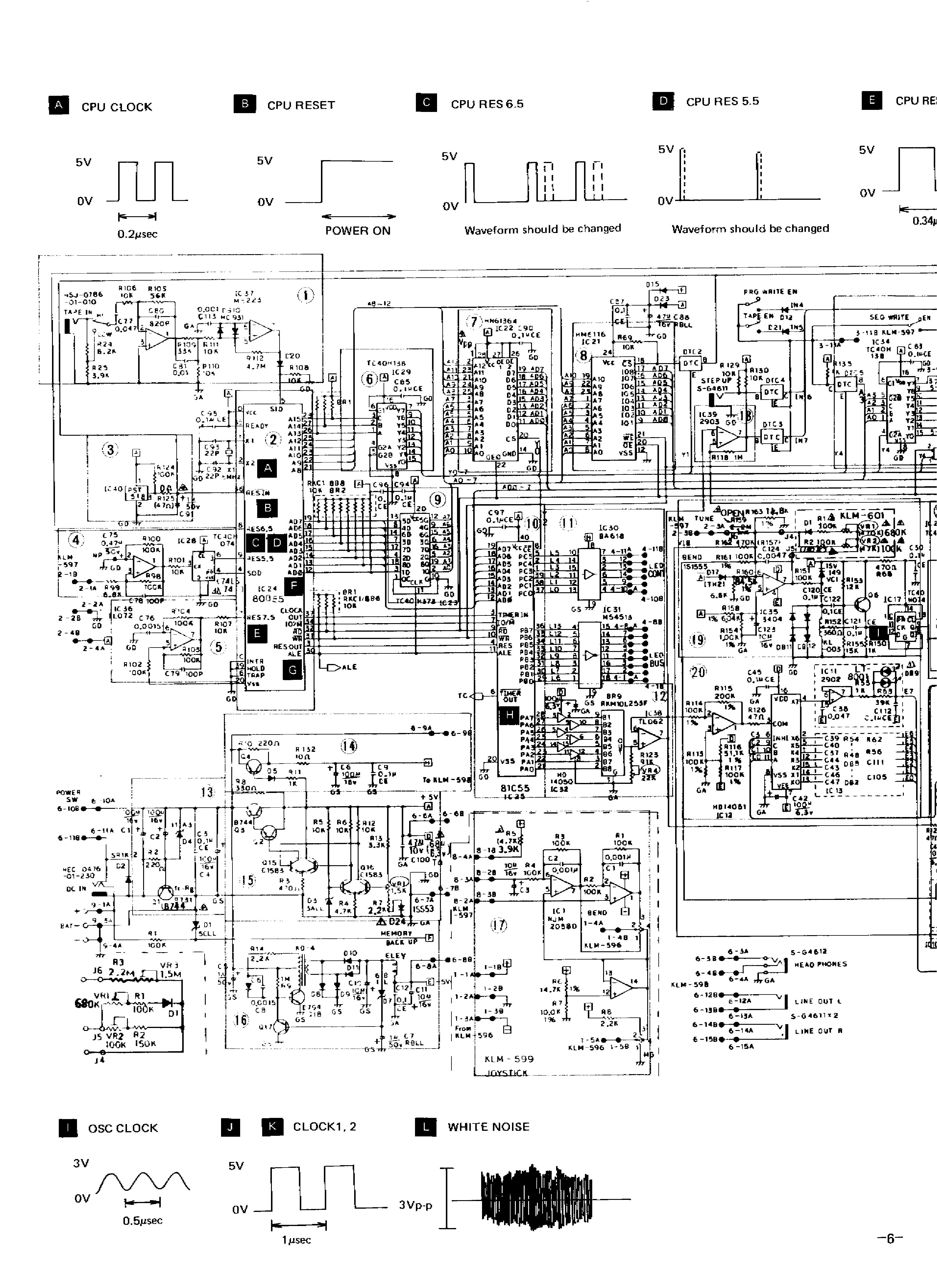korg poly 800 service manual free download  schematics