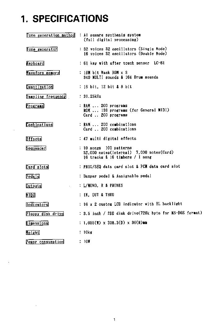 KORG X3 SM Service Manual download, schematics, eeprom, repair info