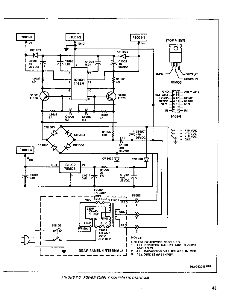 Moog Taurus 205a Sch Pdf Service Manual Download Schematics Eeprom