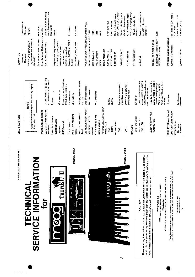 moog_taurus_ii_model_343a_b.pdf_1 moog taurus ii model 343a b service manual download, schematics 2008 Taurus Wiring Diagram at n-0.co