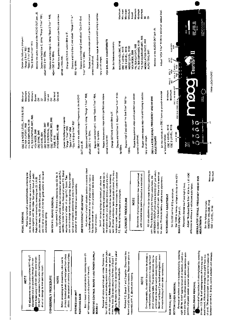 moog taurus ii model 343a b service manual download. Black Bedroom Furniture Sets. Home Design Ideas
