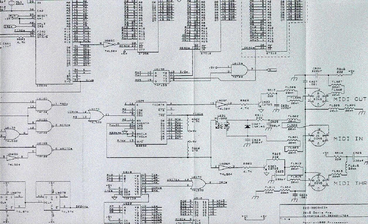 oberheim ob 8 sm 1 service manual free download  schematics  eeprom  repair info for electronics Matrix 1000 Editor oberheim matrix 1000 service manual